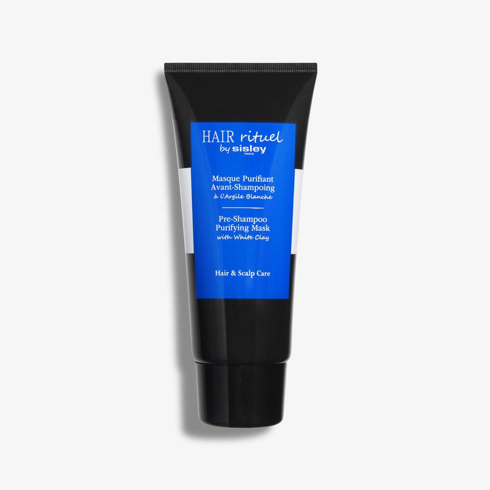 Masque Purifiant Avant-Shampoing à l'Argile Blanche