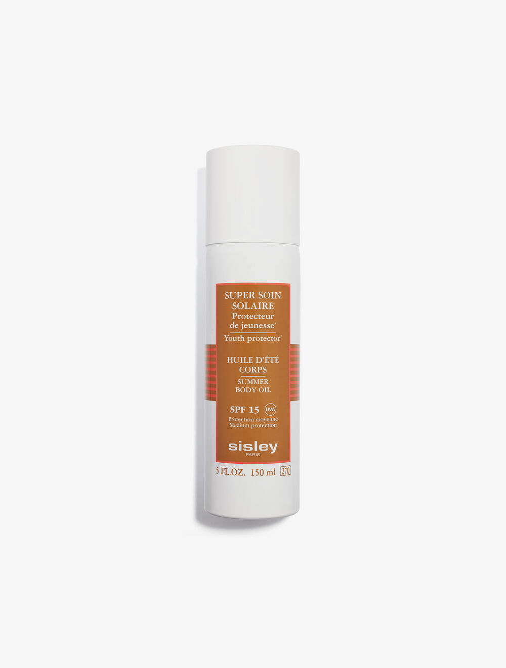 Super Soin Solaire Huile Soyeuse Corps SPF15