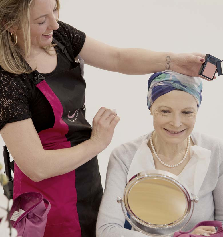 The Sisley-d'Ornano Foundation helps improve the well-being and confidence of women touched by cancer