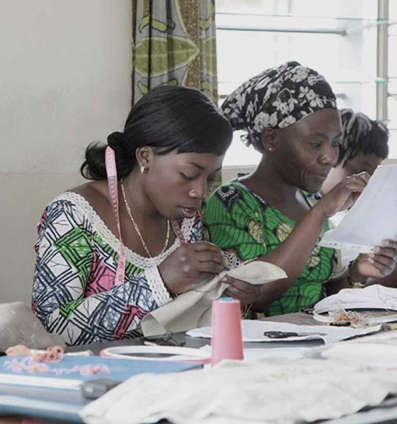 The Sisley-d'Ornano Foundation supports the Kisany program in Congo and Rwanda