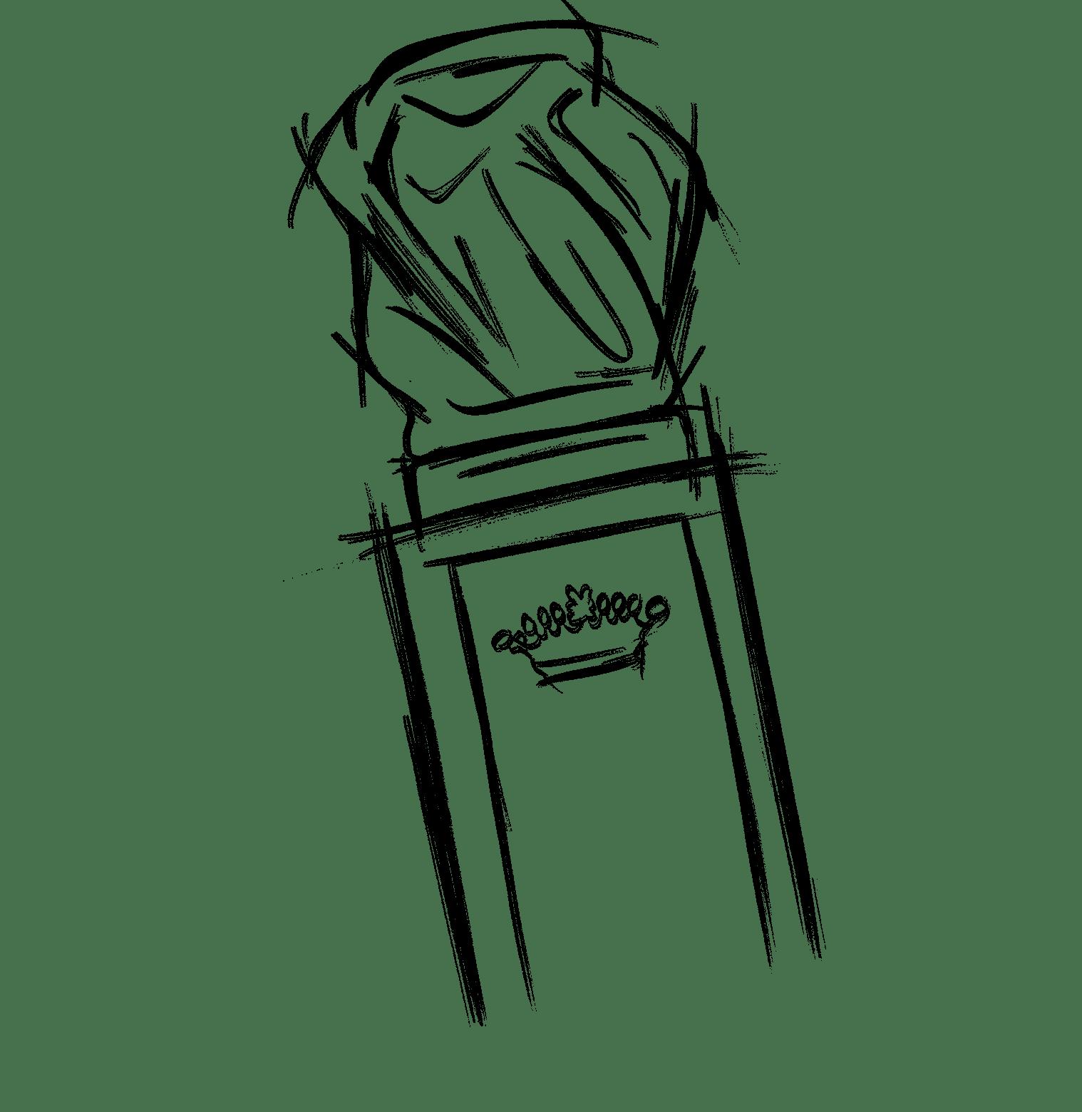 Svěží, vodní a dřevitá kompozice