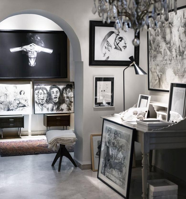 Hajer Azzouz's La Maison de la Plage Exhibition